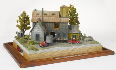 Patrick Manufacturing, diorama by Dave Gilson